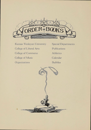 Page 6, 1922 Edition, Kansas Wesleyan University - Coyote Yearbook (Salina, KS) online yearbook collection