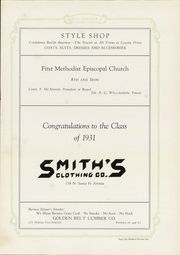 Page 187, 1931 Edition, Kansas Wesleyan University - Coyote Yearbook (Salina, KS) online yearbook collection