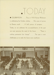 Page 10, 1935 Edition, Kansas Wesleyan University - Coyote Yearbook (Salina, KS) online yearbook collection