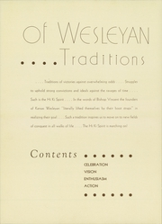 Page 12, 1935 Edition, Kansas Wesleyan University - Coyote Yearbook (Salina, KS) online yearbook collection