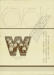 Page 7, 1935 Edition, Kansas Wesleyan University - Coyote Yearbook (Salina, KS) online yearbook collection