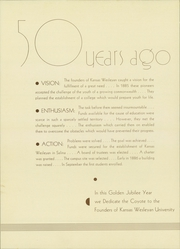 Page 8, 1935 Edition, Kansas Wesleyan University - Coyote Yearbook (Salina, KS) online yearbook collection
