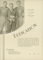 Page 12, 1936 Edition, Kansas Wesleyan University - Coyote Yearbook (Salina, KS) online yearbook collection