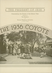 Page 9, 1936 Edition, Kansas Wesleyan University - Coyote Yearbook (Salina, KS) online yearbook collection