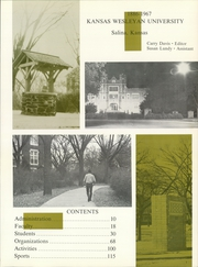 Page 5, 1967 Edition, Kansas Wesleyan University - Coyote Yearbook (Salina, KS) online yearbook collection