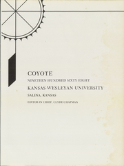 Page 5, 1968 Edition, Kansas Wesleyan University - Coyote Yearbook (Salina, KS) online yearbook collection