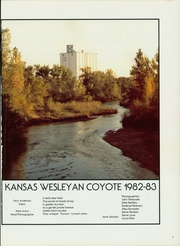Page 5, 1983 Edition, Kansas Wesleyan University - Coyote Yearbook (Salina, KS) online yearbook collection