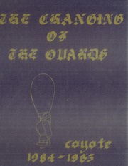 1985 Edition, Kansas Wesleyan University - Coyote Yearbook (Salina, KS)