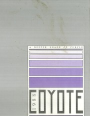 1988 Edition, Kansas Wesleyan University - Coyote Yearbook (Salina, KS)