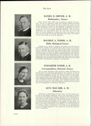 Page 10, 1936 Edition, Hesston College - Lark Yearbook (Hesston, KS) online yearbook collection