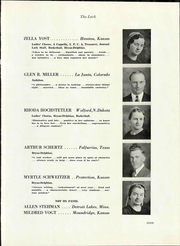 Page 15, 1936 Edition, Hesston College - Lark Yearbook (Hesston, KS) online yearbook collection
