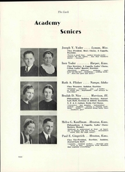 Page 16, 1936 Edition, Hesston College - Lark Yearbook (Hesston, KS) online yearbook collection