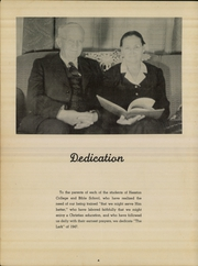 Page 8, 1947 Edition, Hesston College - Lark Yearbook (Hesston, KS) online yearbook collection