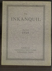 1928 Edition, Independence Junior College - Inkanquil Yearbook (Independence, KS)