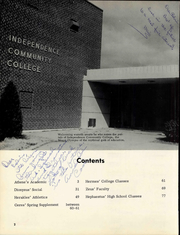 Page 8, 1961 Edition, Independence Junior College - Inkanquil Yearbook (Independence, KS) online yearbook collection