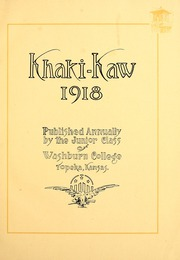 Page 5, 1918 Edition, Washburn University - Kaw Yearbook (Topeka, KS) online yearbook collection