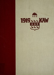 Page 1, 1919 Edition, Washburn University - Kaw Yearbook (Topeka, KS) online yearbook collection