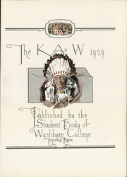 Page 7, 1929 Edition, Washburn University - Kaw Yearbook (Topeka, KS) online yearbook collection