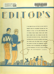 Page 10, 1931 Edition, Washburn University - Kaw Yearbook (Topeka, KS) online yearbook collection