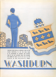 Page 7, 1931 Edition, Washburn University - Kaw Yearbook (Topeka, KS) online yearbook collection