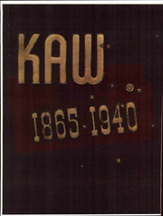 Page 1, 1940 Edition, Washburn University - Kaw Yearbook (Topeka, KS) online yearbook collection