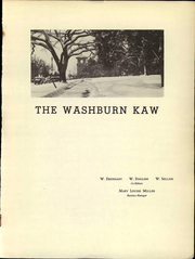 Page 3, 1944 Edition, Washburn University - Kaw Yearbook (Topeka, KS) online yearbook collection