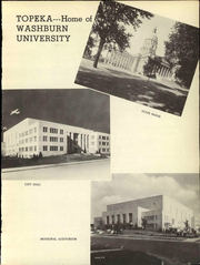 Page 7, 1944 Edition, Washburn University - Kaw Yearbook (Topeka, KS) online yearbook collection