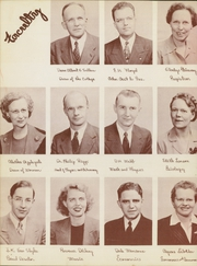 Page 10, 1947 Edition, Washburn University - Kaw Yearbook (Topeka, KS) online yearbook collection