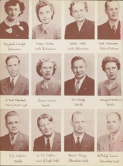 Page 12, 1947 Edition, Washburn University - Kaw Yearbook (Topeka, KS) online yearbook collection