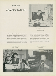 Page 21, 1950 Edition, Washburn University - Kaw Yearbook (Topeka, KS) online yearbook collection