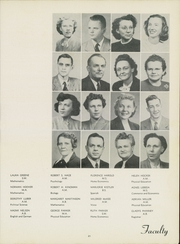 Page 25, 1950 Edition, Washburn University - Kaw Yearbook (Topeka, KS) online yearbook collection