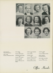 Page 27, 1950 Edition, Washburn University - Kaw Yearbook (Topeka, KS) online yearbook collection