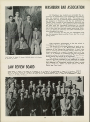 Page 30, 1950 Edition, Washburn University - Kaw Yearbook (Topeka, KS) online yearbook collection