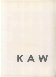Page 7, 1967 Edition, Washburn University - Kaw Yearbook (Topeka, KS) online yearbook collection