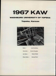 Page 8, 1967 Edition, Washburn University - Kaw Yearbook (Topeka, KS) online yearbook collection