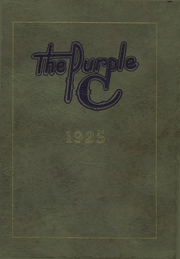 1925 Edition, Coffeyville High School - Purple C Yearbook (Coffeyville, KS)