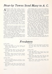 Page 16, 1936 Edition, Cowley College - Tiger Daze Yearbook (Arkansas City, KS) online yearbook collection