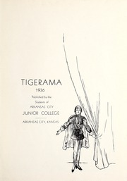 Page 3, 1936 Edition, Cowley College - Tiger Daze Yearbook (Arkansas City, KS) online yearbook collection