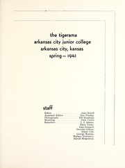 Page 3, 1941 Edition, Cowley College - Tiger Daze Yearbook (Arkansas City, KS) online yearbook collection