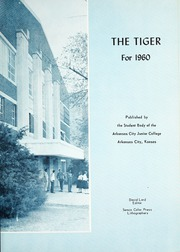 Page 5, 1960 Edition, Cowley College - Tiger Daze Yearbook (Arkansas City, KS) online yearbook collection