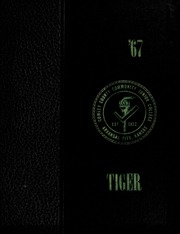 1967 Edition, Cowley College - Tiger Daze Yearbook (Arkansas City, KS)