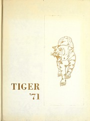 1971 Edition, Cowley College - Tiger Daze Yearbook (Arkansas City, KS)