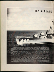Page 6, 1961 Edition, Black (DD 666) - Naval Cruise Book online yearbook collection