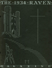 Benedictine College - Raven Yearbook (Atchison, KS) online yearbook collection, 1934 Edition, Page 1