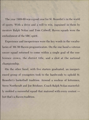 Page 147, 1969 Edition, Benedictine College - Raven Yearbook (Atchison, KS) online yearbook collection