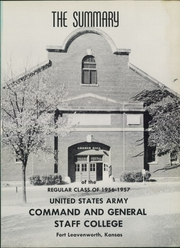 Page 5, 1957 Edition, US Army Command and General Staff College - Summary Yearbook (Fort Leavenworth, KS) online yearbook collection