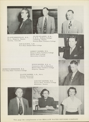 Page 10, 1951 Edition, Garden City Community College - Broncbuster Yearbook (Garden City, KS) online yearbook collection