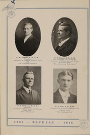 Page 16, 1916 Edition, Tabor College - Bluejay Yearbook (Hillsboro, KS) online yearbook collection