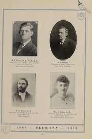 Page 17, 1916 Edition, Tabor College - Bluejay Yearbook (Hillsboro, KS) online yearbook collection