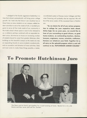 Page 11, 1957 Edition, Hutchinson Community College - Dragons Tale Yearbook (Hutchinson, KS) online yearbook collection